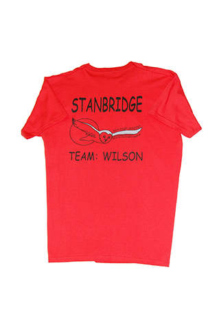 T Shirt Red (Wilson) (SS)