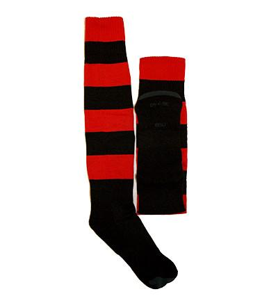 Red/Black Hooped Socks (BCCS)
