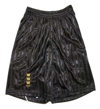 Black Football Shorts (BCCS)