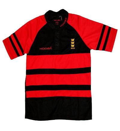 Hooped Rugby Shirt (BCCS)
