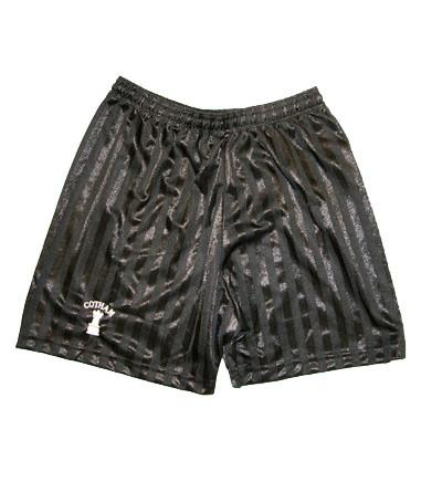 Black Embroidered Shorts (CS)