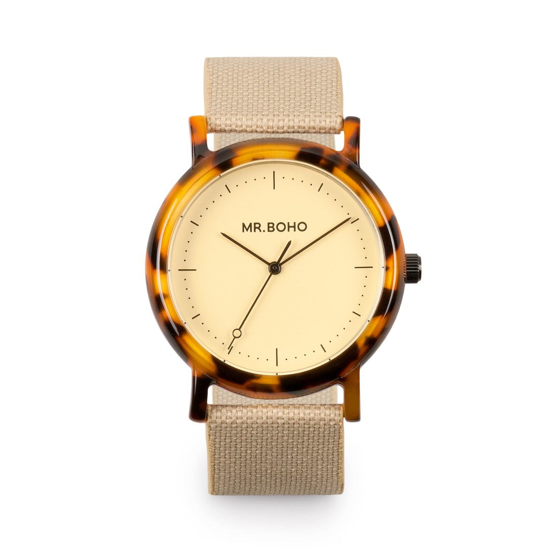 Acetate Champagne Flecked - Mr Boho Casual Watch