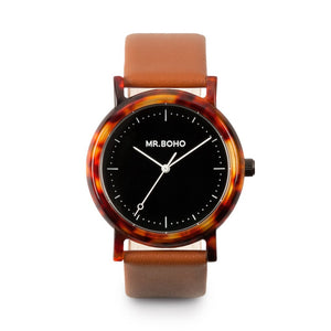 Acetate Black Walnut - Mr Boho Casual Watch