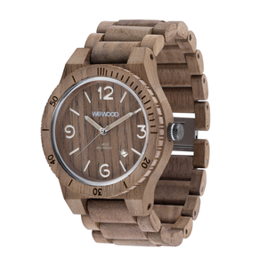 WeWood Alpha SW Nut Rough Wood Watch