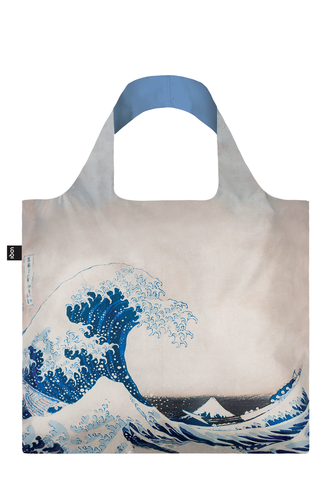 LOQI Hokusai Shopping Bag