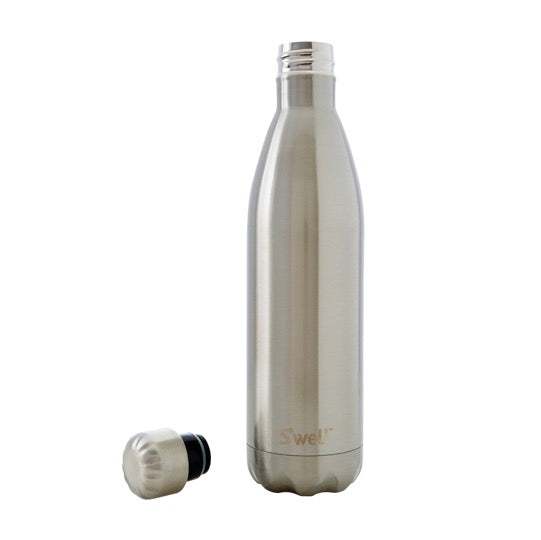 S'well - Shimmer Collection Insulated Bottle - Silver Lining
