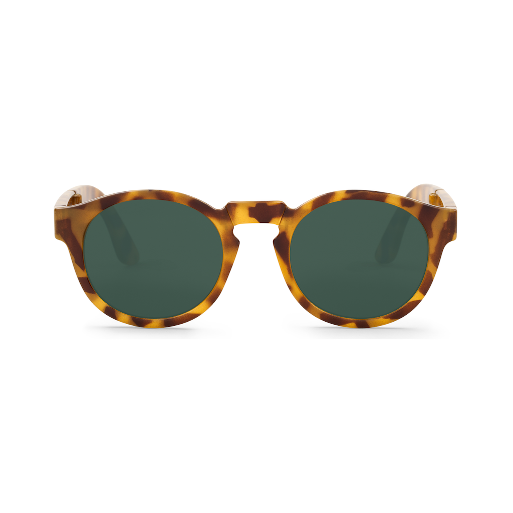 c2382298b87 Foldable Jordaan High-Contrast Tortoise Sunglasses