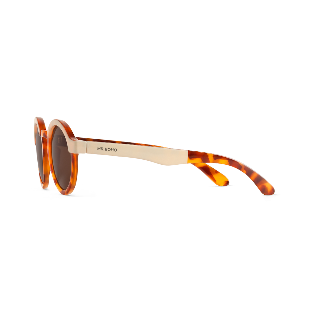 22cd8c8068 Dalston Cream Leo Tortoise Sunglasses - Branched