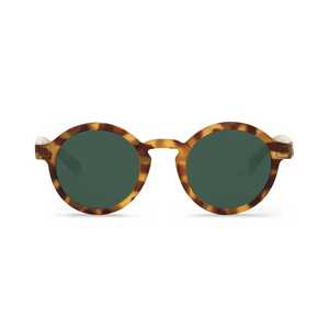 Dalston High-Contrast Tortoise Sunglasses