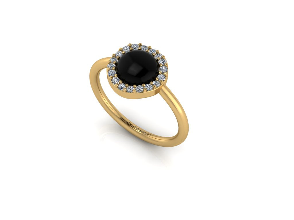 Constellation Ring - Onyx
