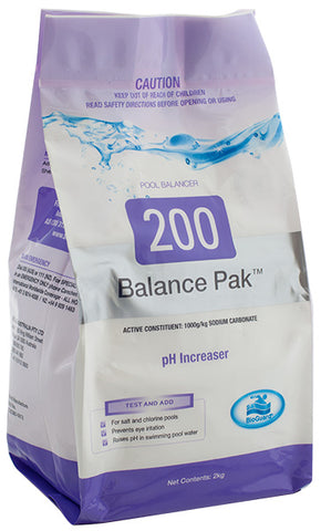 Bioguard Balance Pak 200 2kg pH Increaser