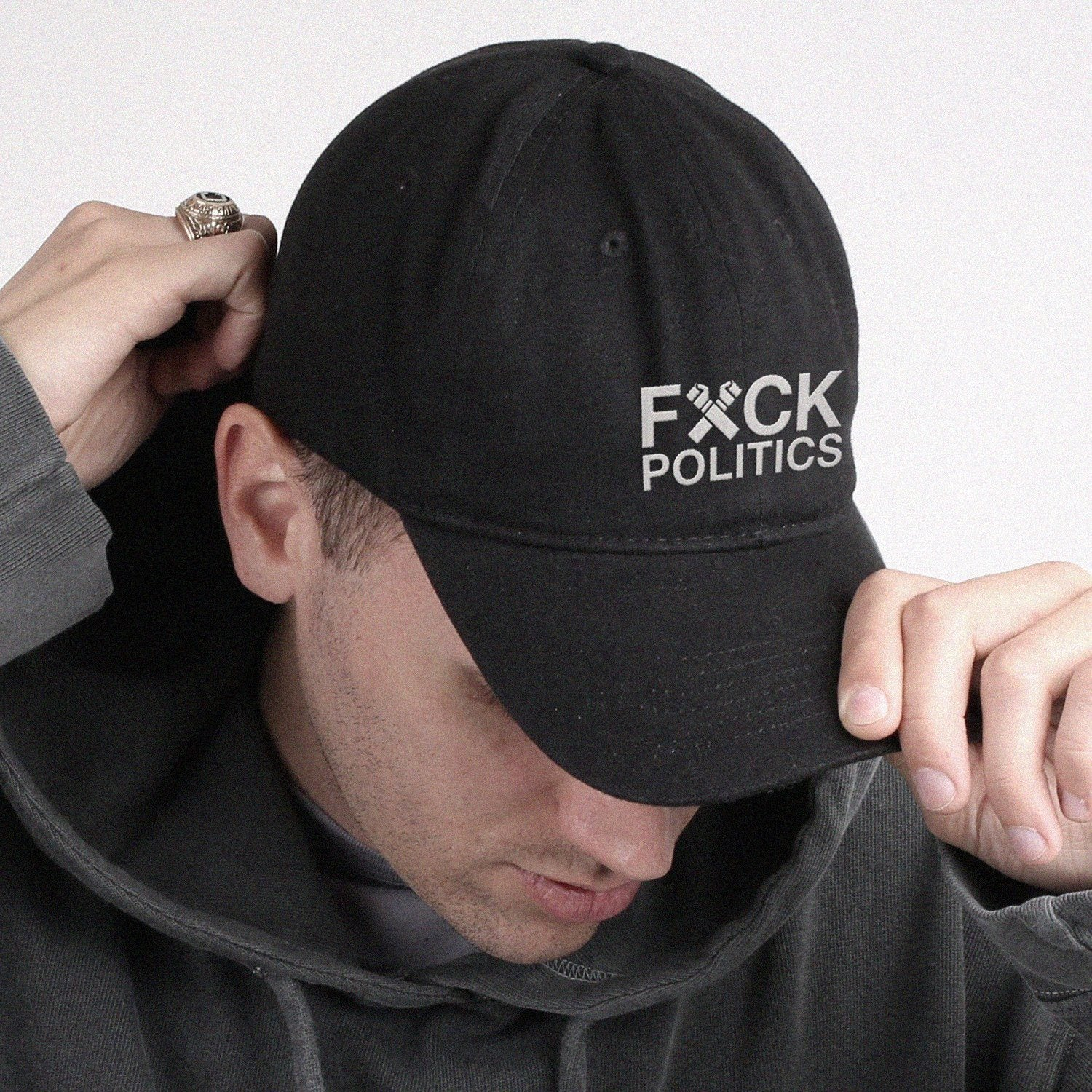 Fuck Their Poilitics Dad Hat