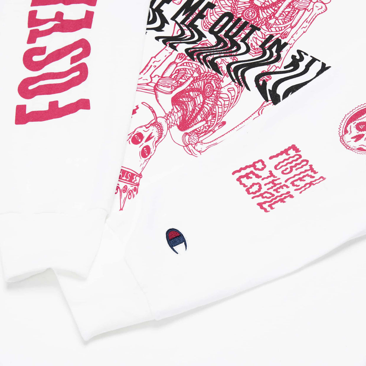 Foster The People x Champion 'Style' Long Sleeve Tee