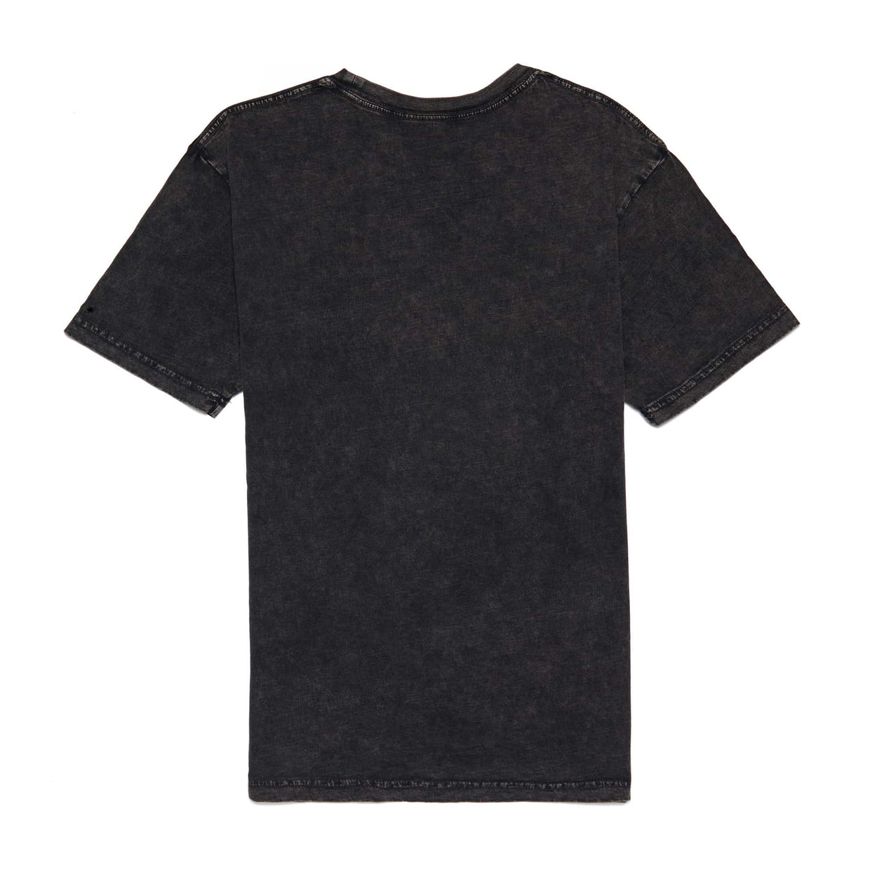 'Warped' Black Stone Wash Tee