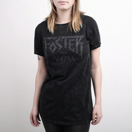 Foster Womens Limited Edition Short Sleeve Washed Tee