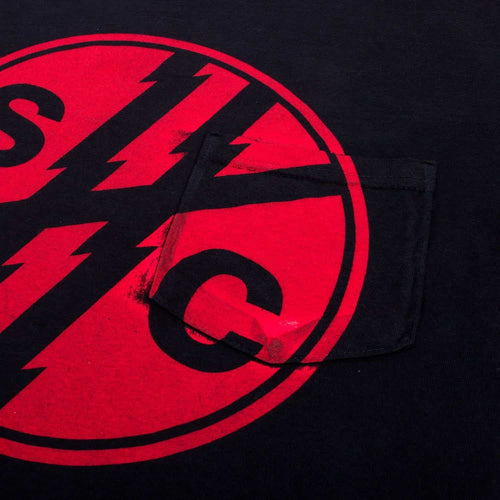 SHC Logo Pocket Tee - Black