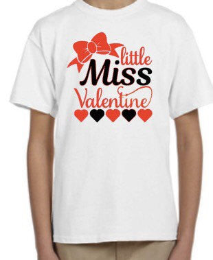 Little Miss Valentine's Shirt