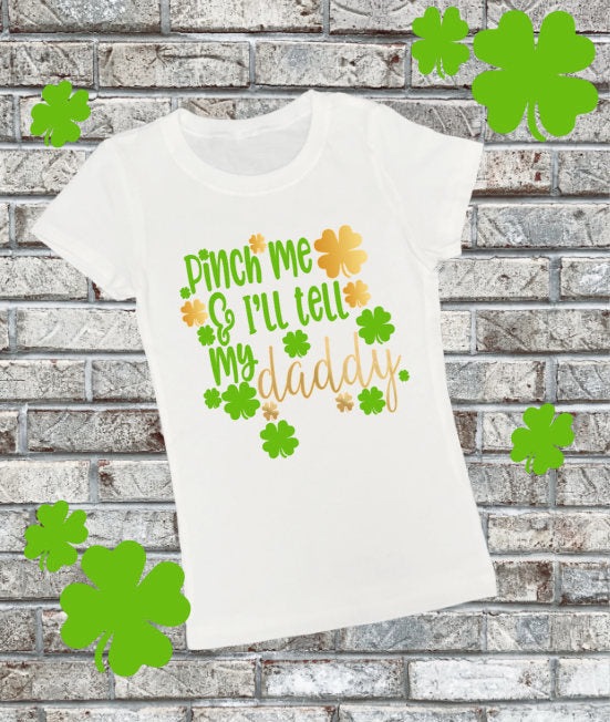 Girls St Patricks Day Shirt