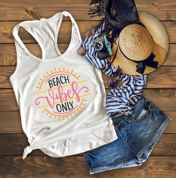 Beach Vibes Only, Vacation Tank, Vacay Tank, Summer Tank, Summer Tank Top, Spring Break Tank, Vacation Shirt, Vacation Tank Top, Beach Tank
