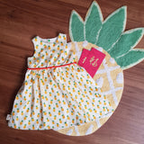 "CUSTOM Tea Party Dress ""Pineapple"""