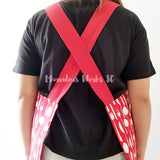 Reversible Apron - Cutlery (Red)