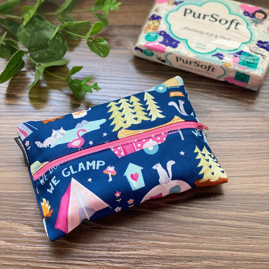 Glamping - Dry Travel Sized Tissue Pack Pouch Holder