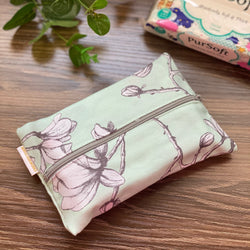Aquarelle Mint - Dry Travel Sized Tissue Pack Pouch Holder