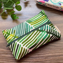 Palm Leaves - Dry Travel Sized Tissue Pack Pouch Holder