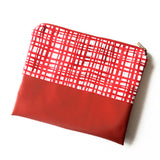 """Red Checks"" Pouch *LIMITED EDITION*"
