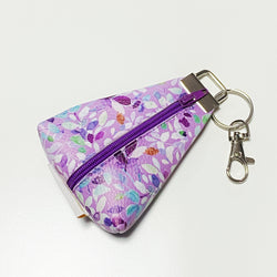 """Purple Blooms"" Meraki Coin Pouch"