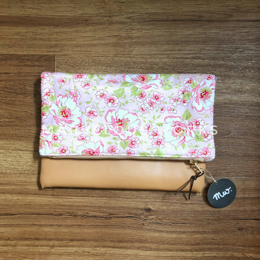 """English Garden"" Foldover Clutch"