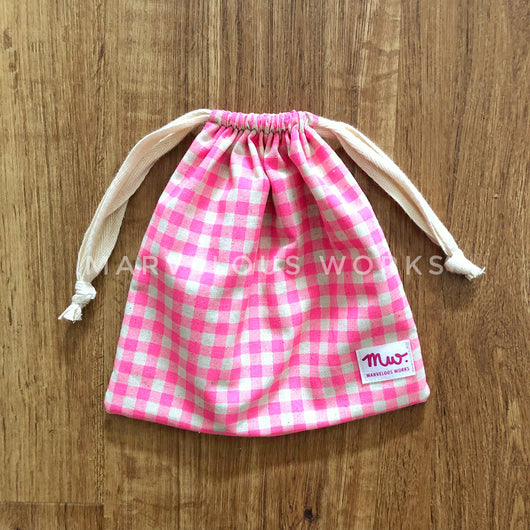CUSTOM Drawstring Pouch