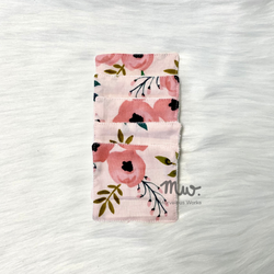 Pink Posies - Reusable Cotton Pads