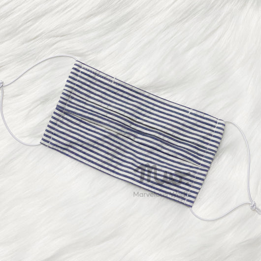 Pleated Reusable Cotton Fabric Face Mask Sleeve Insert