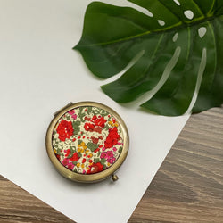 Claire Aude (Bronze) - Compact Pocket Mirror