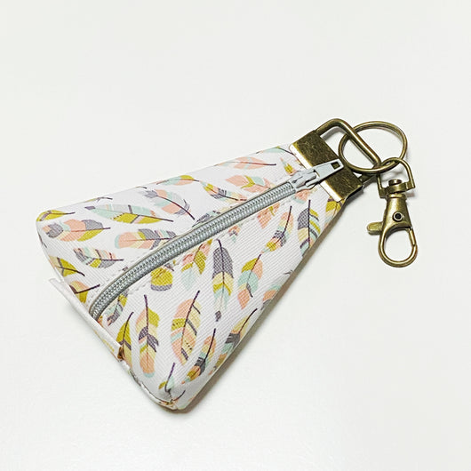"""Feather"" Meraki Coin Pouch"