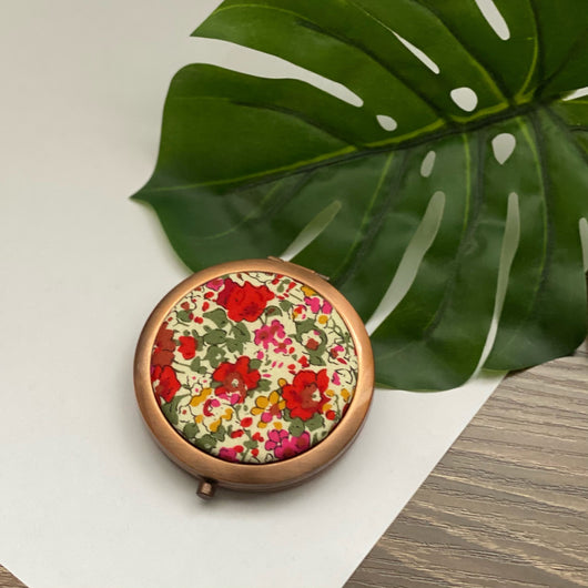 Claire Aude (Rose) - Compact Pocket Mirror