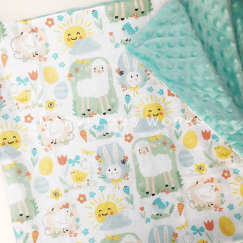 READY STOCK Baby Minky Blanket