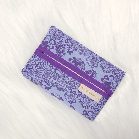Purple Fantasy - Minimalist Tissue Pouch