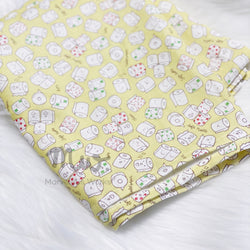 Toilet Roll Yellow - Swaddle Blanket