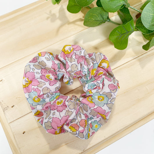 Betsy Pink - Liberty London Hair Tie Scrunchie