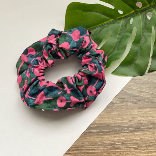 Time Flower Pink - Hair Tie Scrunchie