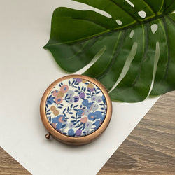 Wiltshire Lavender (Rose) - Compact Pocket Mirror