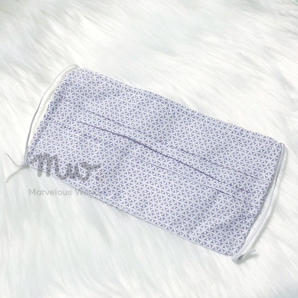 Reusable Cotton Fabric Face Mask Sleeve Insert Quot Monogram