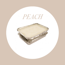 Peach Paraffin Wax