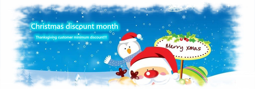 Christmas month Thanksgiving customer minimum discount!!!