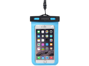 Waterproof Cell Phone Bag Blue - CHOETECH OFFICIAL