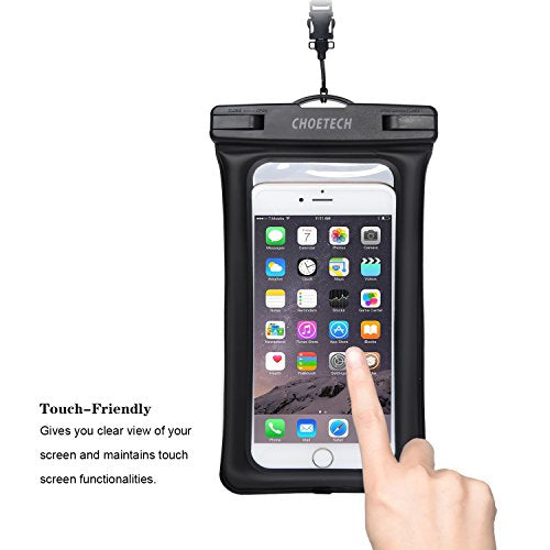 CHOETECH Floating Waterproof Case With Armband & Neck Strap CHOETECH OFFICIAL