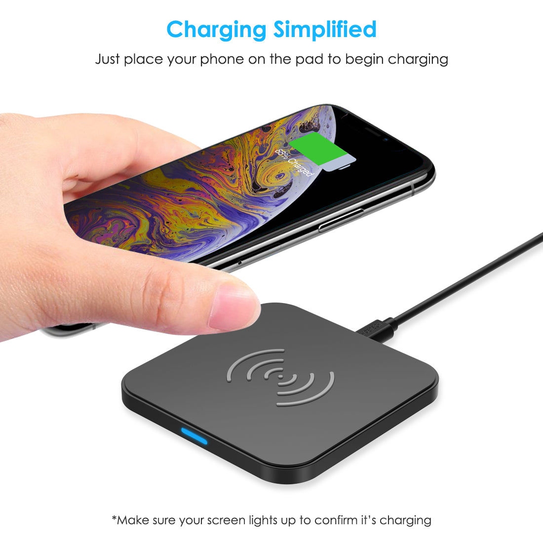 Choetech T511 5W Qi Wireless Charger