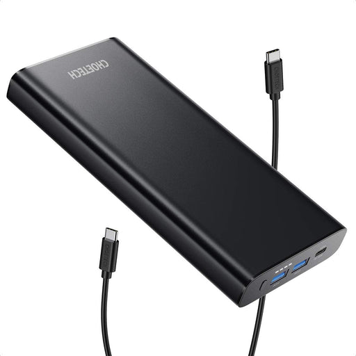CHOETECH Portable Charger 26800mAh 100W PD 3.0 USB-C Power Bank  B634